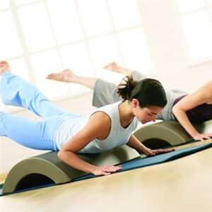 Pilates arc barrel