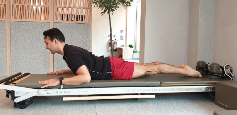 Neck pain Pilates exercises